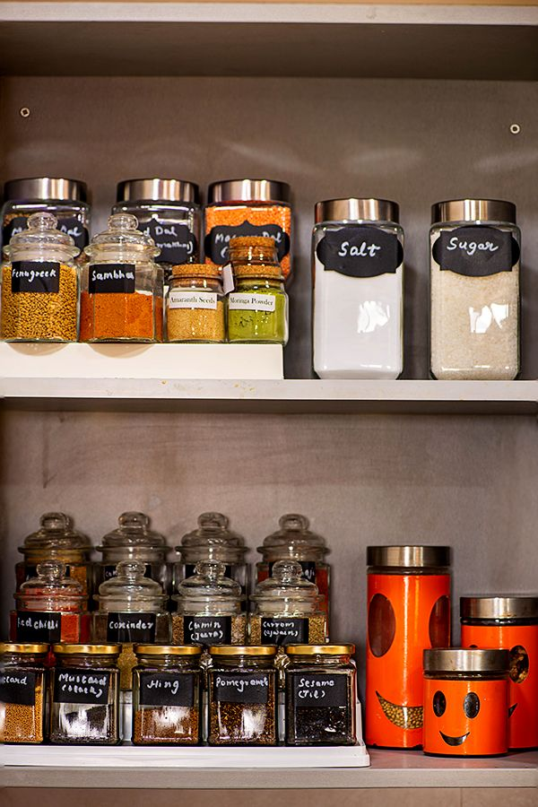 how to organize Indian spice cabinet - Pantry Ideas ...