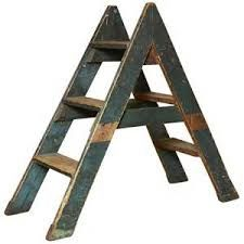 Image Result For Reclaimed Wood Ladders For Sale Old Wooden Ladders Vintage Painting Step Ladders