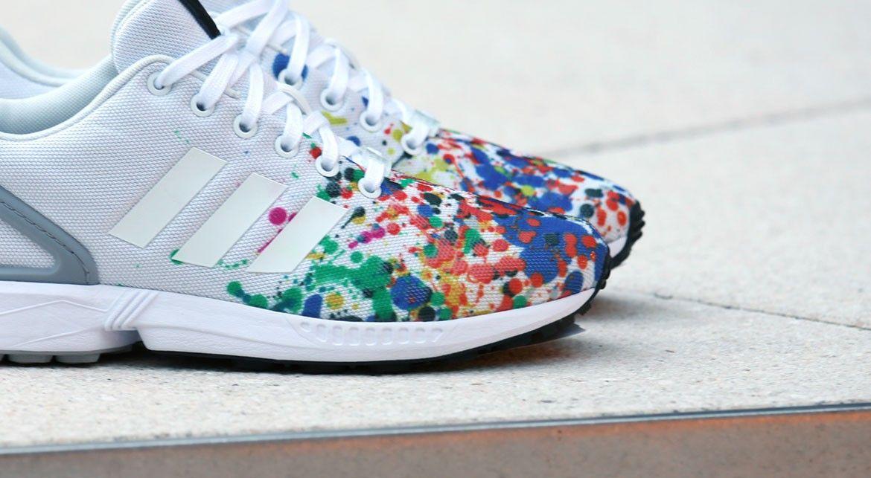 adidas zx flux couleur bordeaux