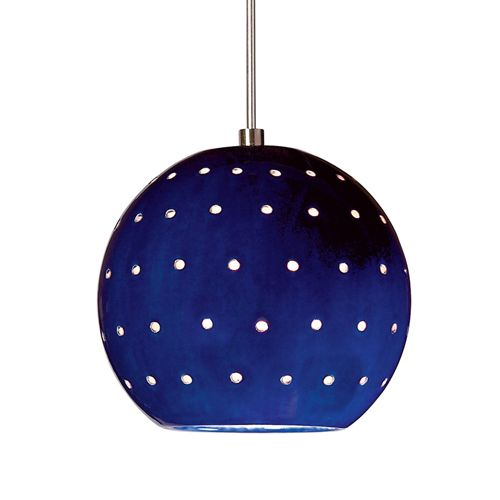 Cobalt Blue Pendant Lighting  sc 1 st  Pinterest & Cobalt Blue Pendant Lighting | Kitchen island lighting | Pinterest ...
