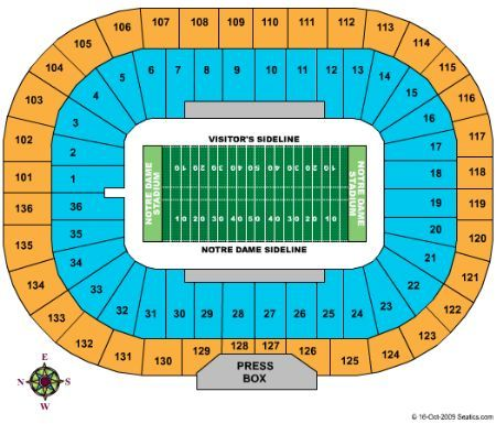 2652 Notre Dame Stadium Football Jpg 450 385 Usc Football Football Ticket Ohio Football