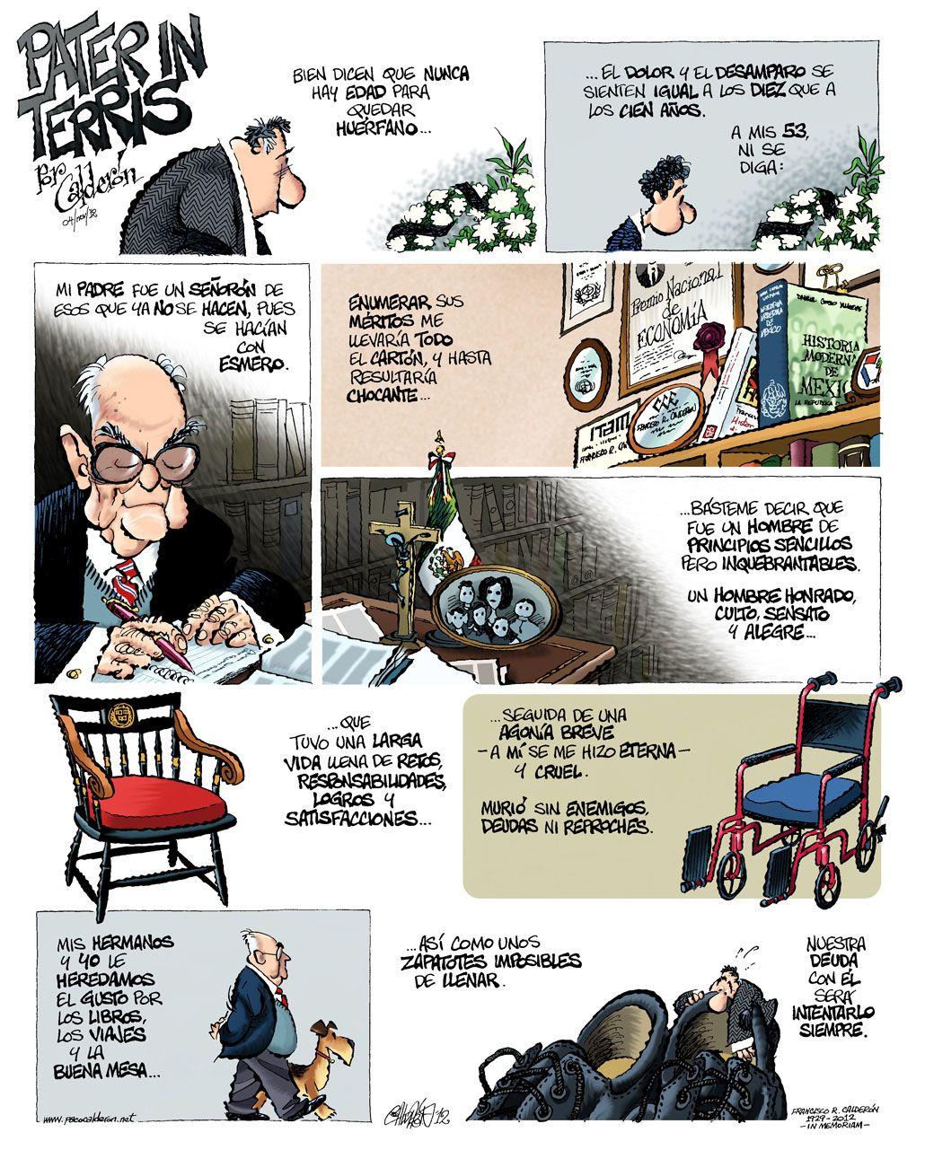 2012/11/04  PATER IN TERRIS por Paco Calderón (Un abrazo)