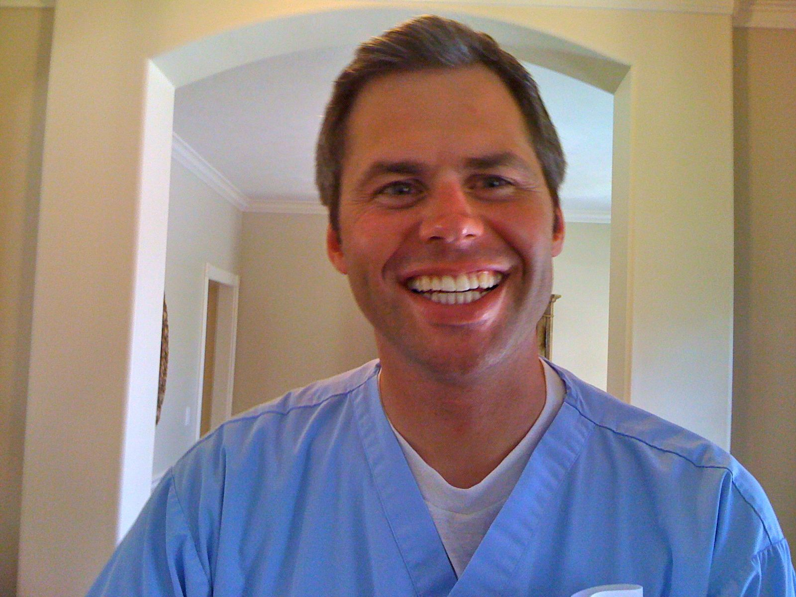 Dr. Steve Osmond (Wayne's son) is a dentist.