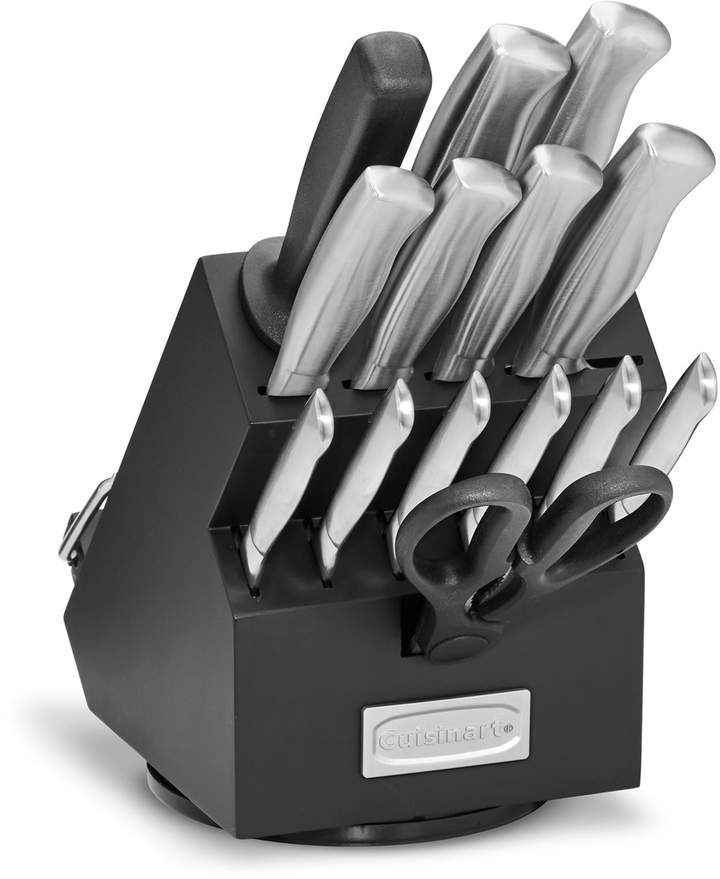 Cuisinart classic 15pc stainless steel rotating knife