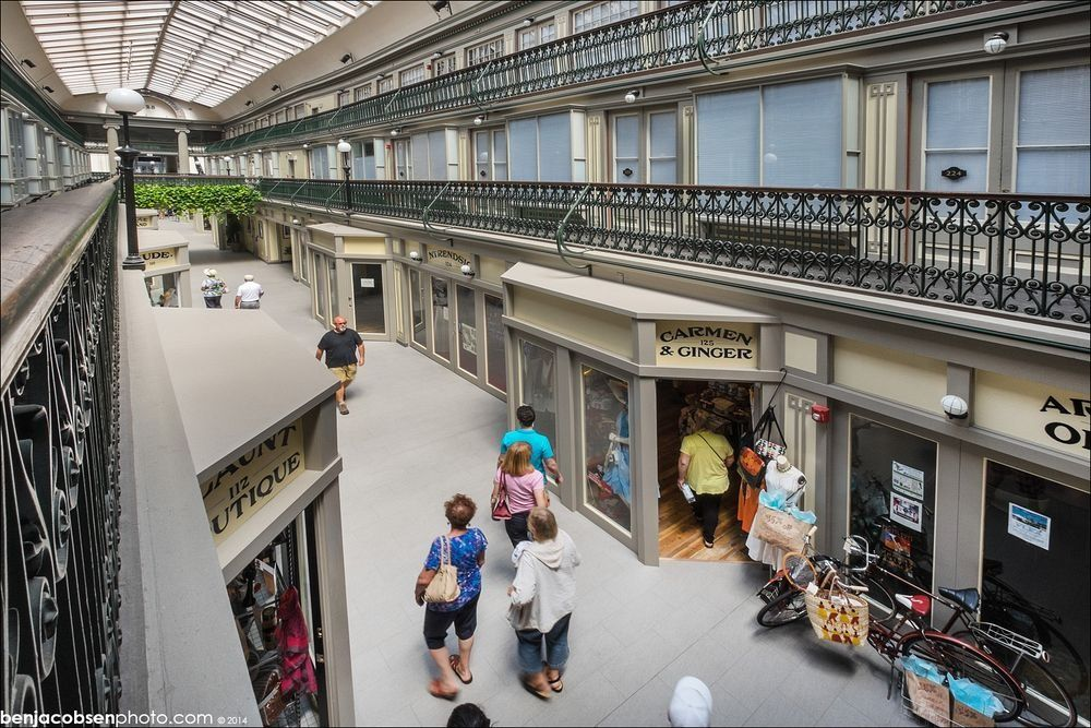 Americas oldest mall converted into microapartments