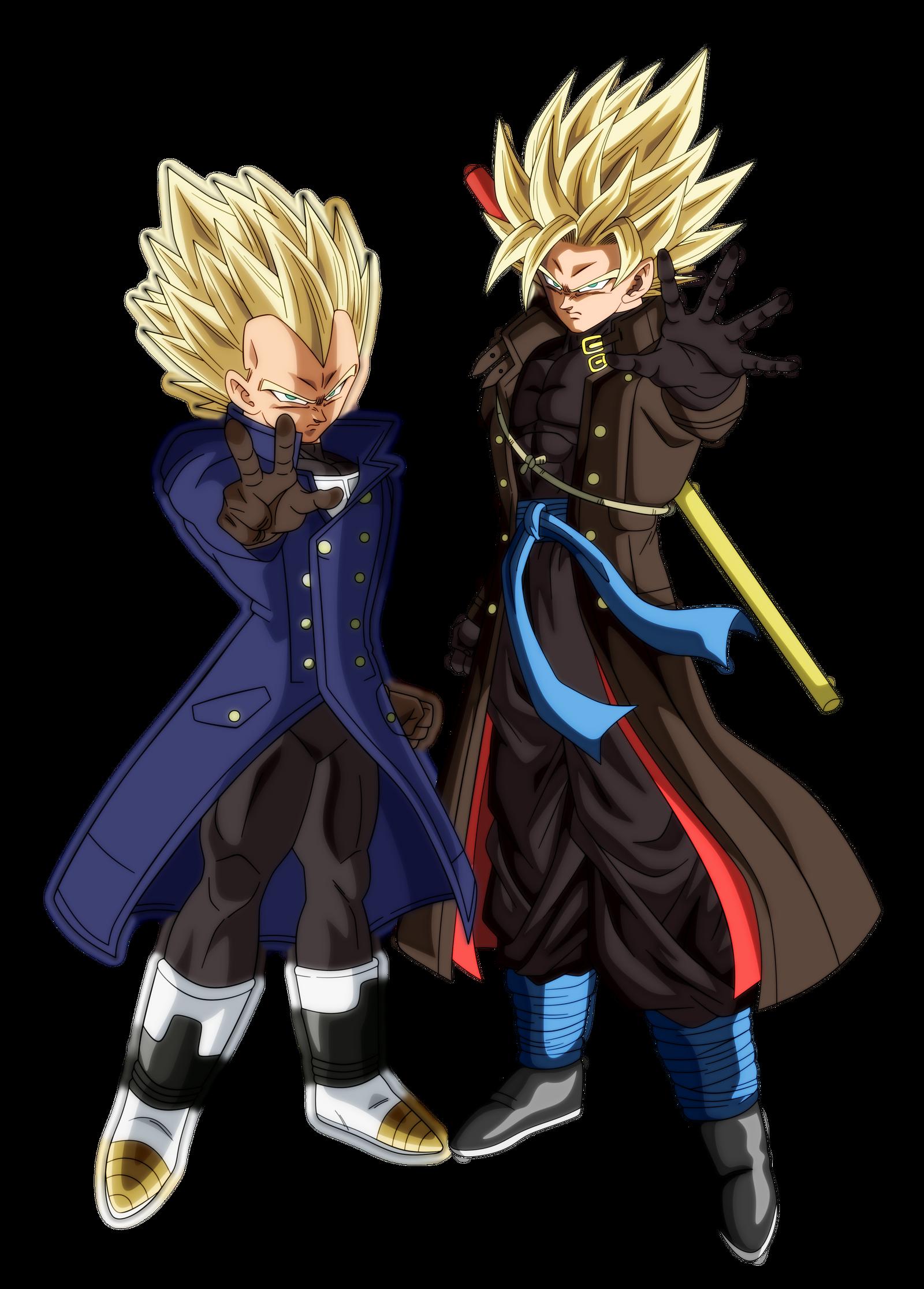 Goku Vegeta Xeno Ssj2 By Andrewdb13 On Deviantart Dragon Ball Super Goku Dragon Ball Super Manga Anime Dragon Ball Super
