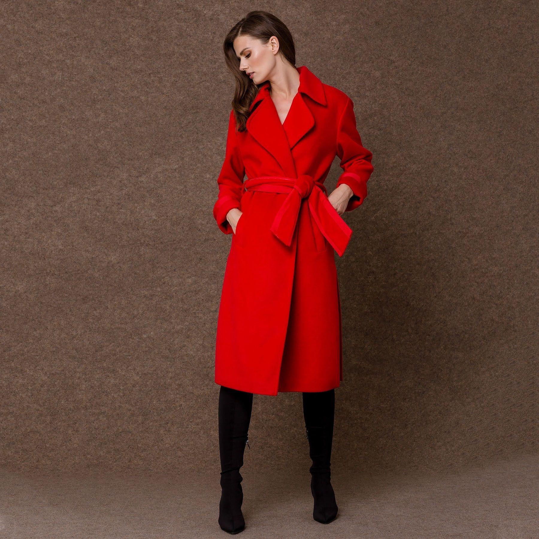 Παλτό μακρύ μανίκια γκρο - Access Fashion  2fc53d7b5e4