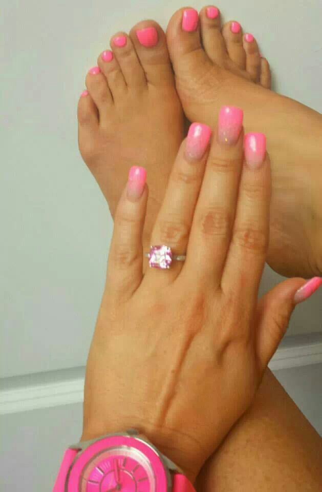 Pink Mani Pedi Coco Austin Beauty Etc Pretty Toes Nails