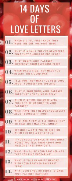 14 Days of Love Letters | How to fix a broken heart | Marriage, Love