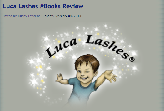 Just Ten More Minutes did a #review of our #kids #series!  Check it out! #Lucalashes