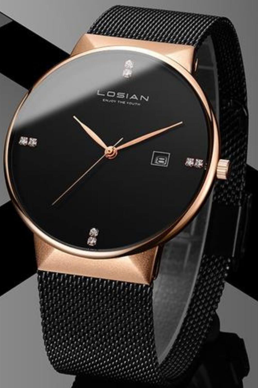 Diamond Men S Minimalist Watch Mens Dress Watches Watches For Men Womens Watches [ 1500 x 1000 Pixel ]