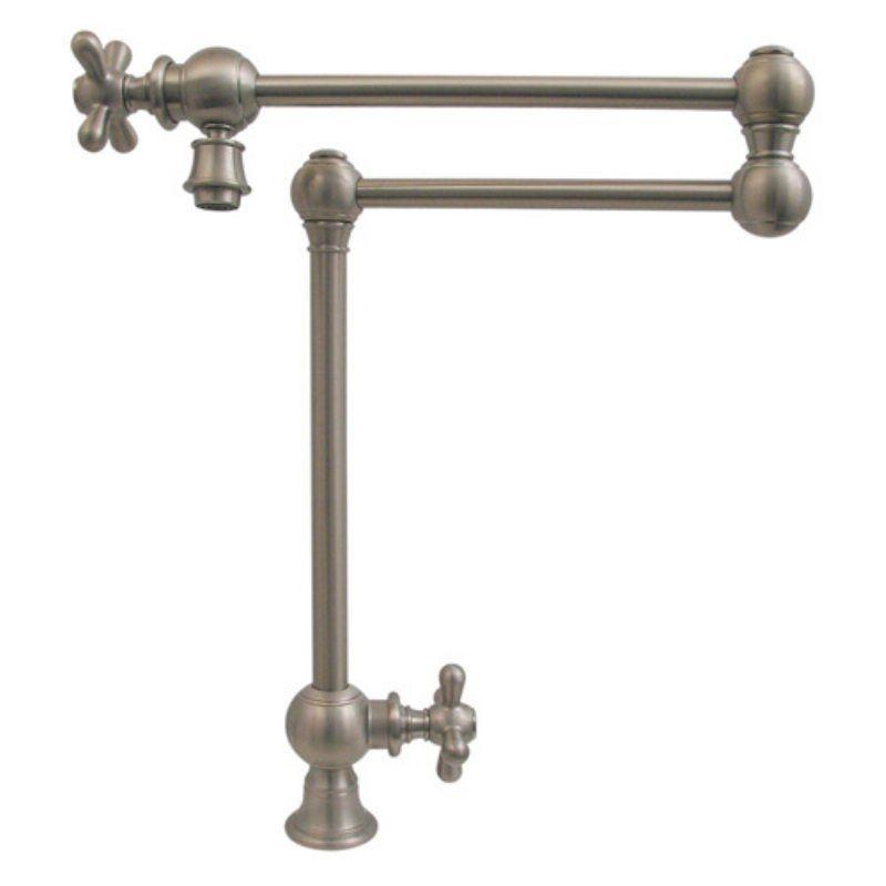 Whitehaus Whkpfdcr3 9555 Bn Vintage Iii Deck Mount Pot Filler Whkpfdcr3 9555 Bn Pot Filler Pot Filler Faucet Kitchen Faucet