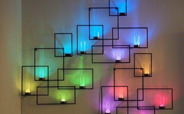 indirekte wandbeleuchtung indirektebeleuchtung wandgestaltung deko - wandgestaltung streifen ideen