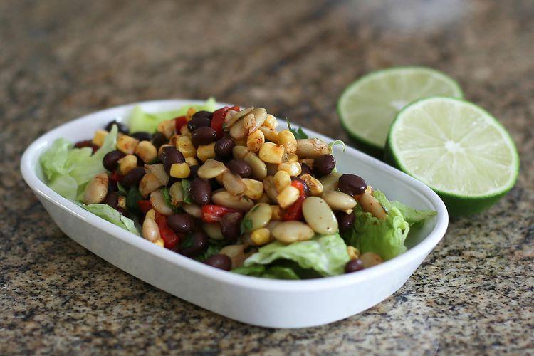 Tex Mex Black Bean And Corn Salad Recipe Black Bean Salad