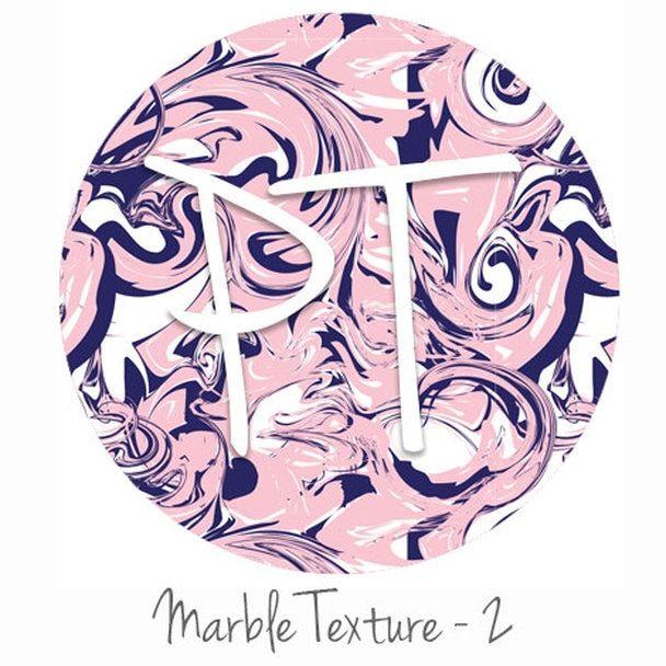 12x12 Permanent Patterned Vinyl - Marble Texture 2