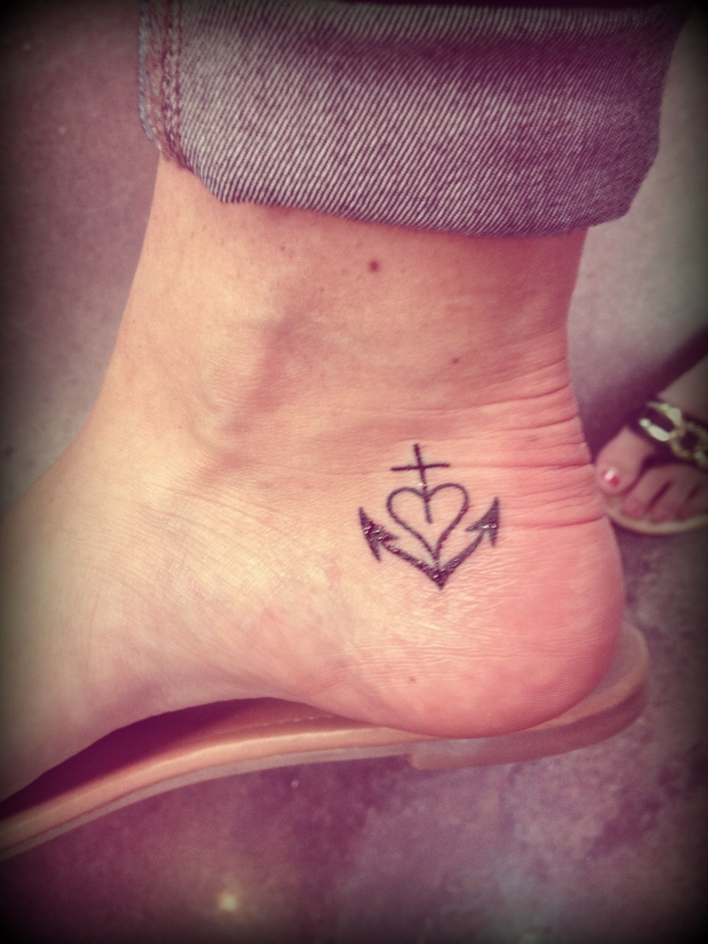 Anchor Heart Cross Tattoo Anchor Tattoos Designs Ideas And Meaning ...