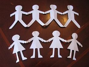 This Website Is Currently Unavailable Paper Doll Craft Paper Doll Chain Paper Dolls