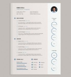 Master Cv Ideas Evernote Web Simple Resume Template Cv Template Free Resume Template Download