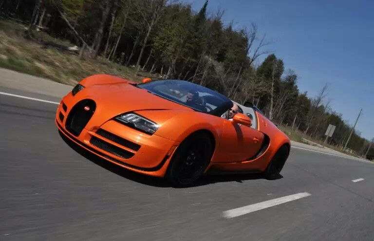 Bugatti Veyron Grand Sport Vitesse 2 6m The Former Holder Of