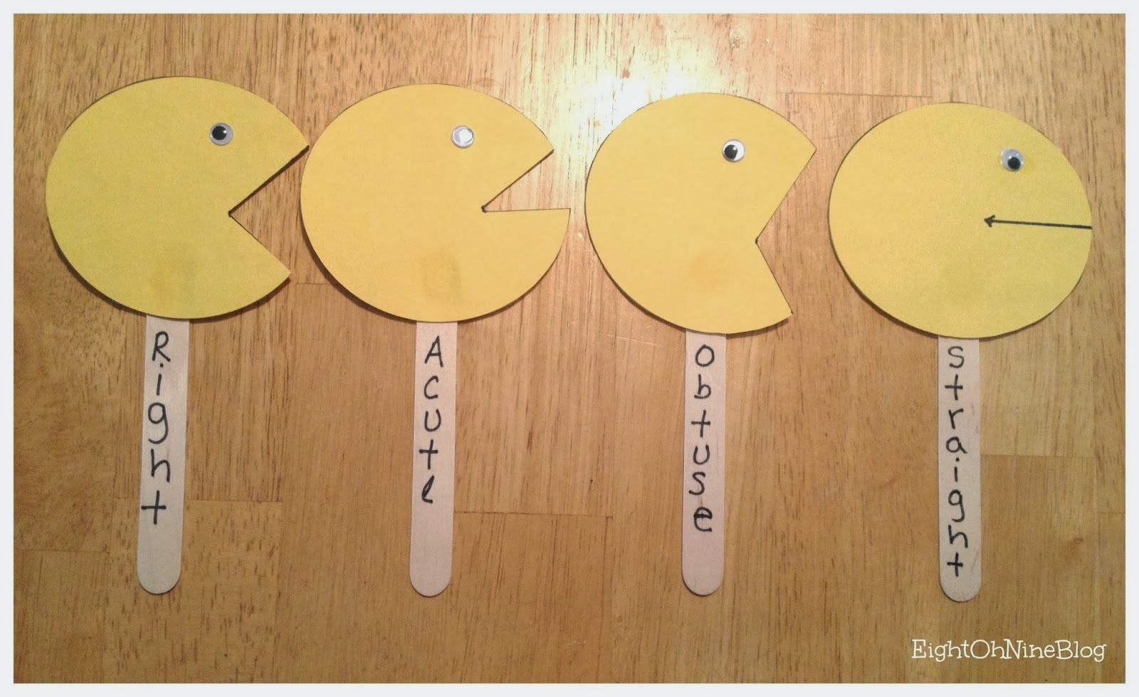 Teaching Angles In Elementary Using Hungry Pac Man