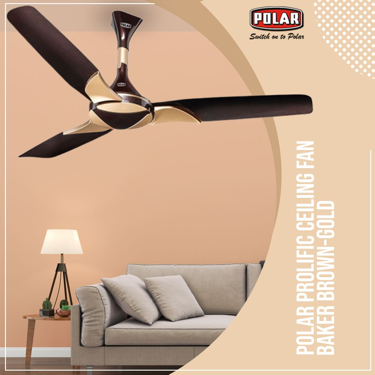 Polar Brings To You Ceiling Fan With The Innovative And Contemporary Design That Will Surel Ceiling Fan Bedroom Dining Room Ceiling Fan Living Room Ceiling Fan
