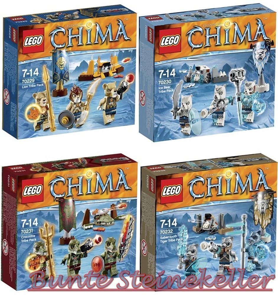 70230 Alle Sets Lego® Chima70232amp; 4 Neue Stämme 70231 70229 DHIEYeb2W9