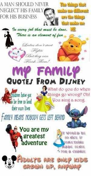 Pin by Brandi brown on disney | Disney family quotes, Family ...