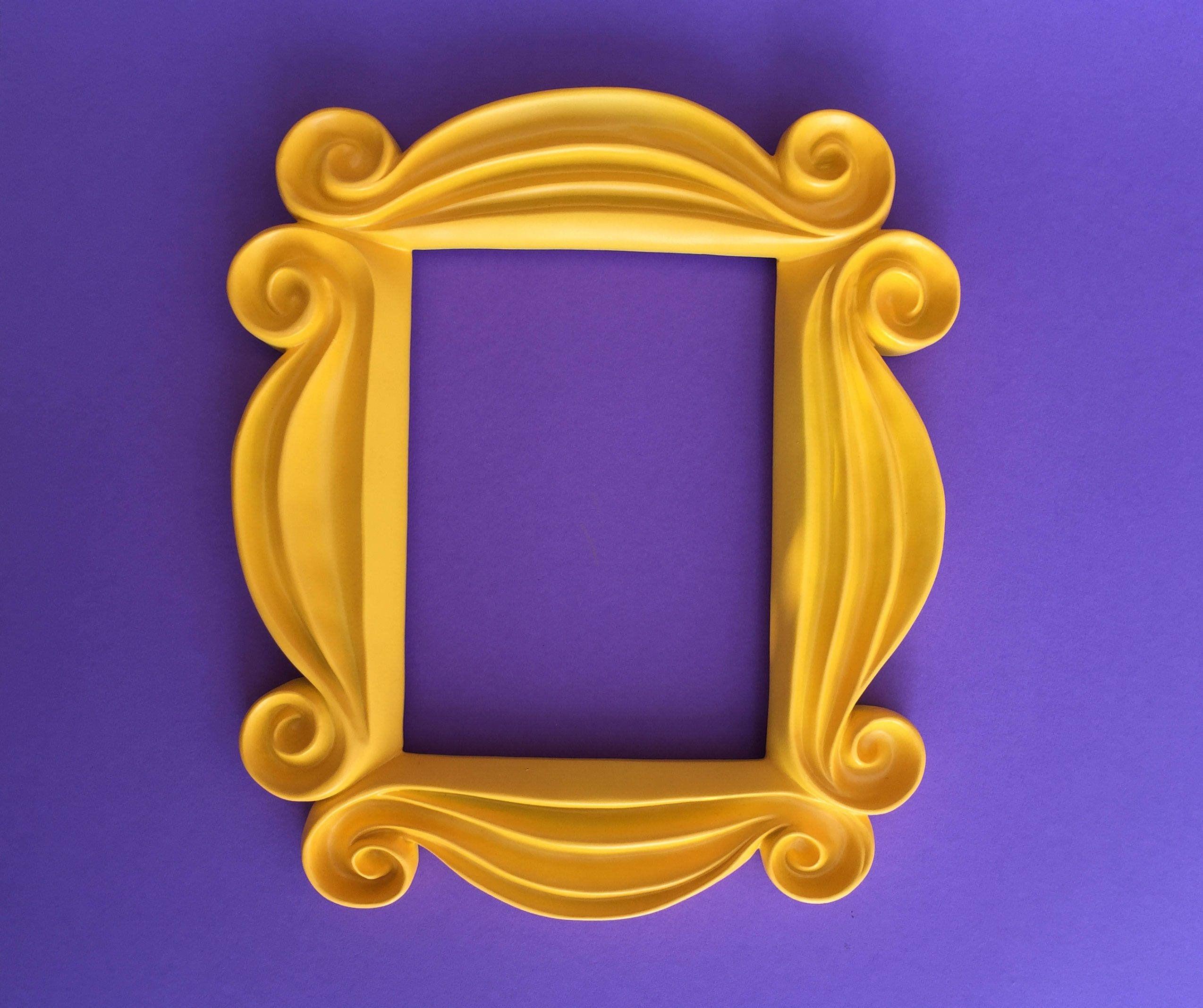 Friends peephole frame replica 3d printed door frame