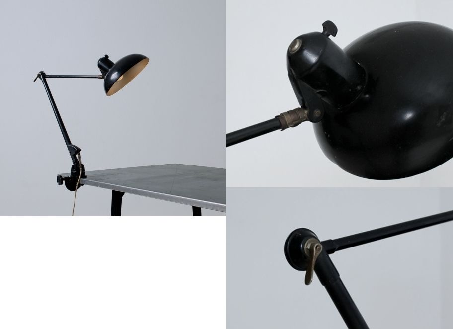 lamp by sis sirius schweinfurt germany around 1935 sis die cast logo l 125 cm fully. Black Bedroom Furniture Sets. Home Design Ideas