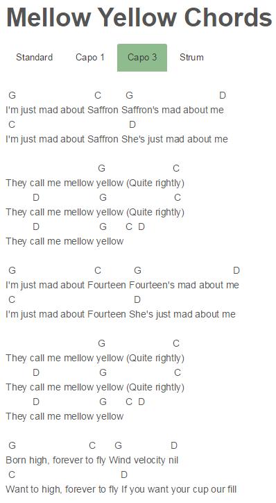 Mellow Yellow Chords Abraham Mateo, Minions   Abraham Mateo   Pinterest