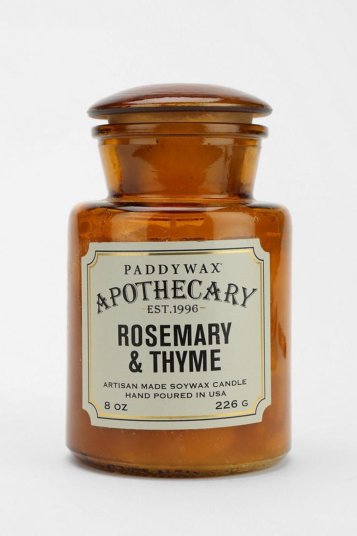 Paddywax Apothecary Candle in 2020 | Apothecary candles ...