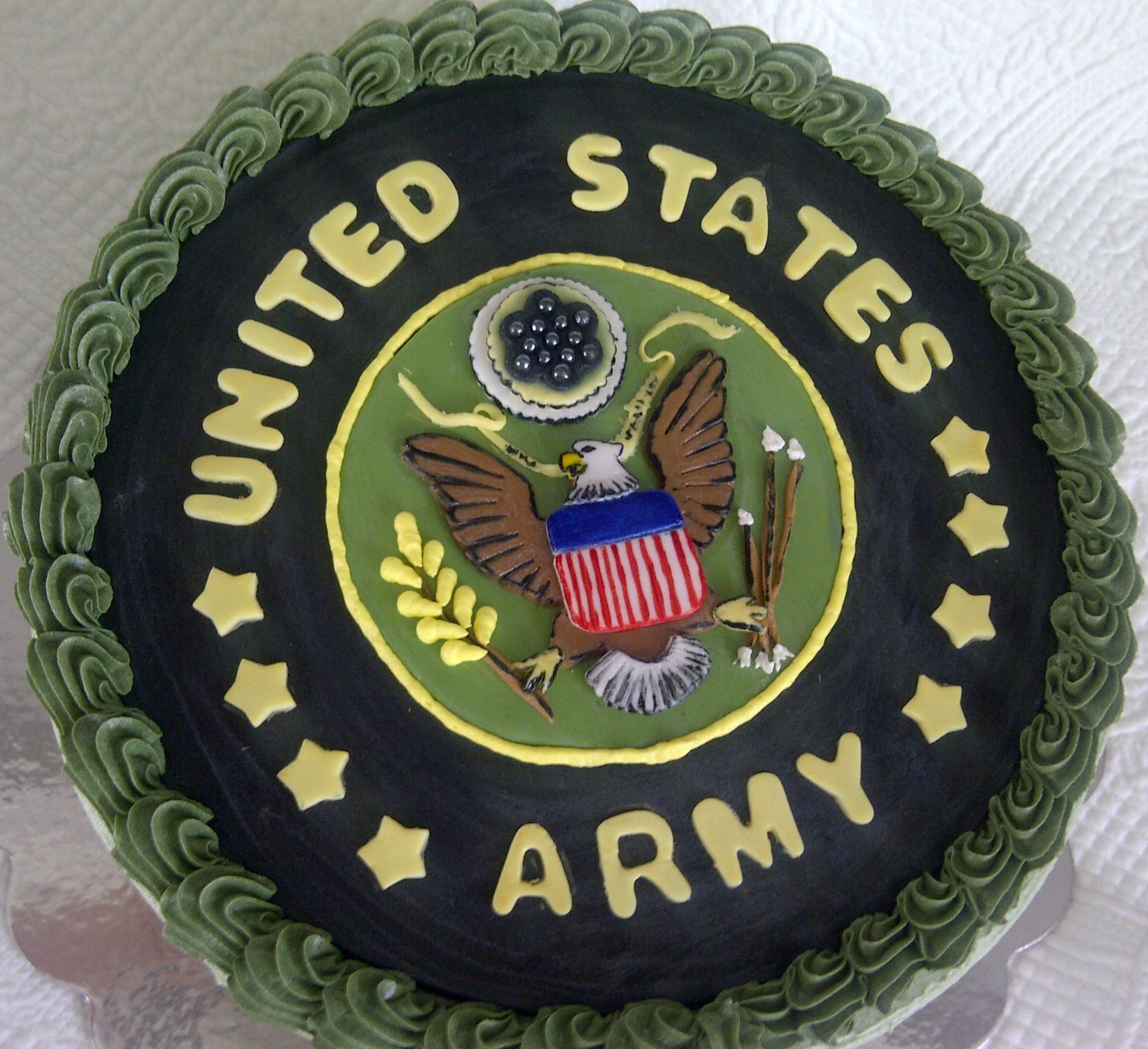 Army Cake ! Grooms cake?? Cake Decorating Pinterest ...