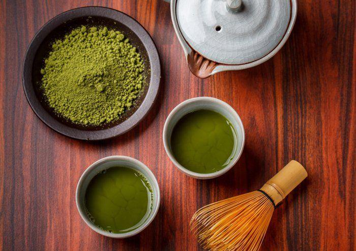 teesorten matchatee wirkung rezeptideen
