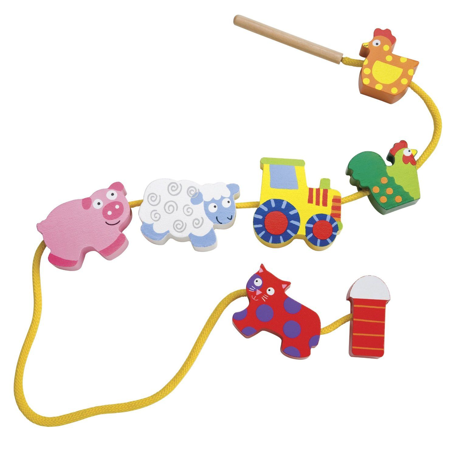 ALEX Toys – Early Learning String A Farm Little Hands 1486F