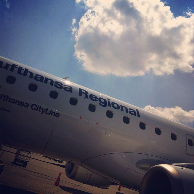 E90/E95 Lufthansa Regional LIN to FRA