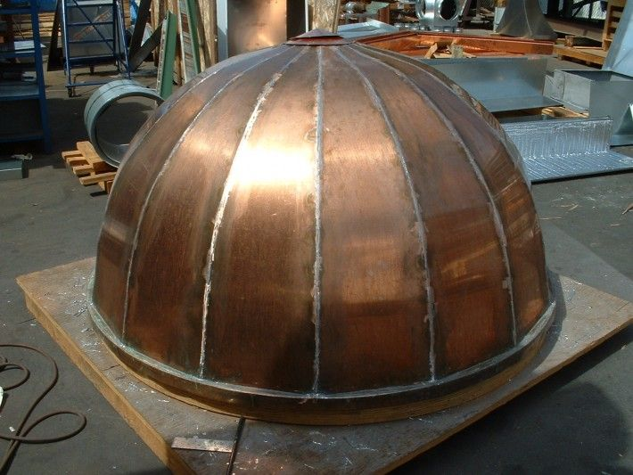 Domes Amp Cupolas Concord Sheet Metal Copper Gutters