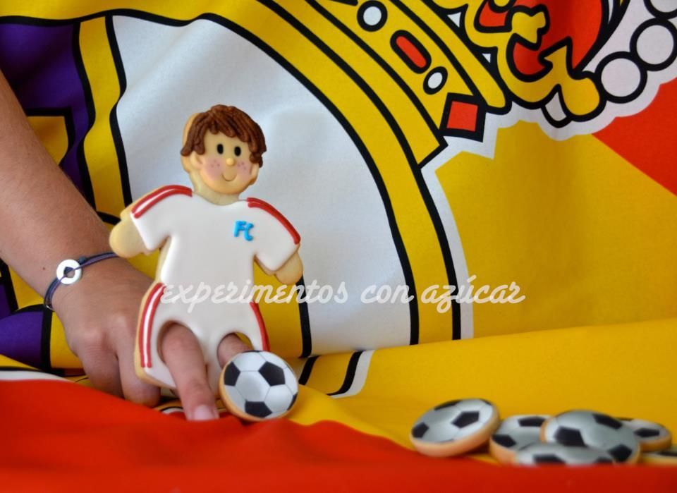 Playing fútbol (soccer)   Cookie Connection