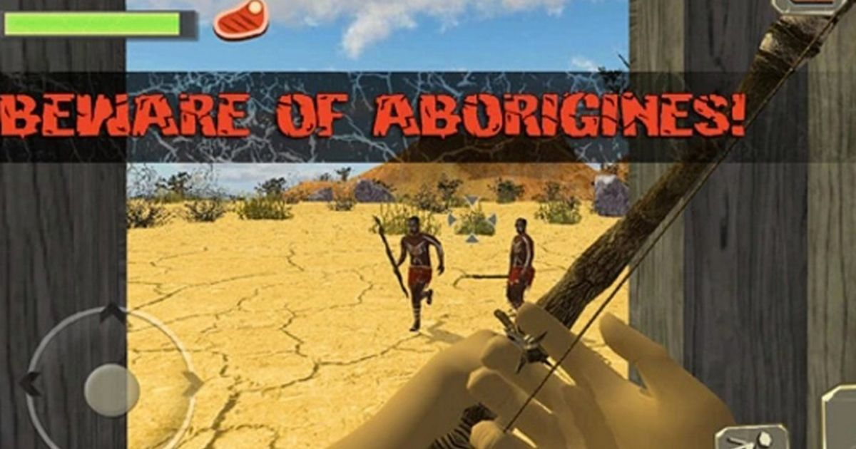 Video game that encourages players to kill Aborigines