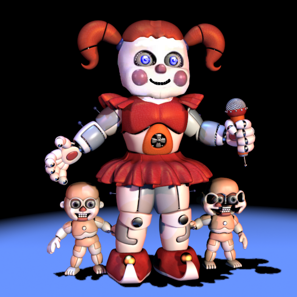 Minigame Baby by springbonnie-asshole .