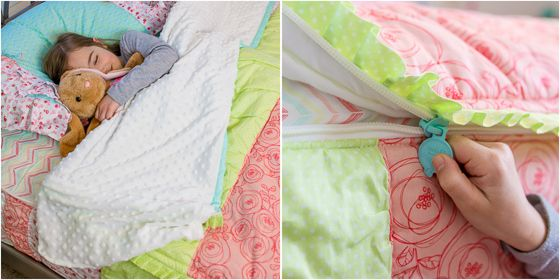 Cute girl bedding! Zip your bed! Beddys Beddys Beds