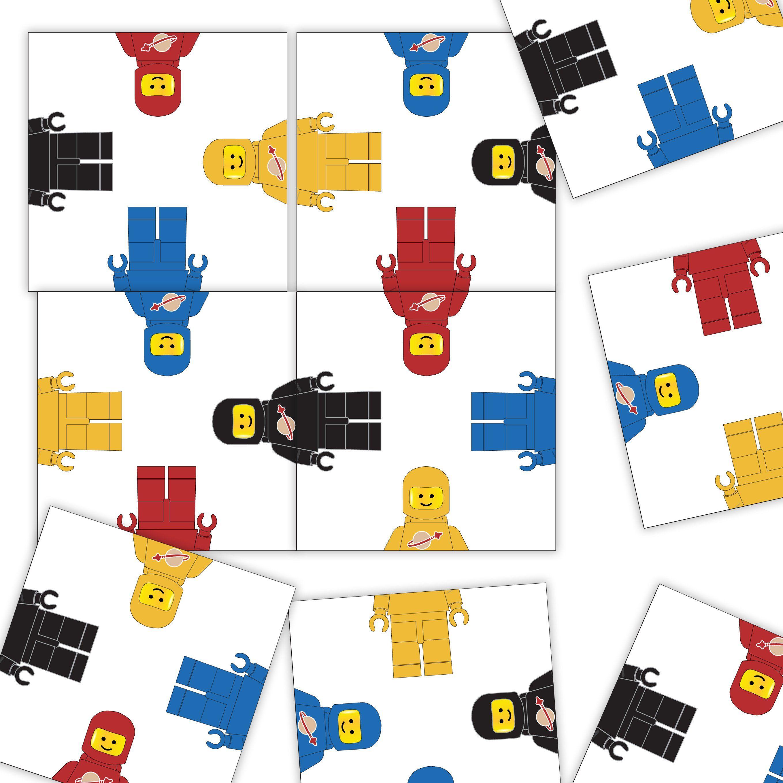 Crazy Spaceman Puzzle II Easy Level Retro Tile Game