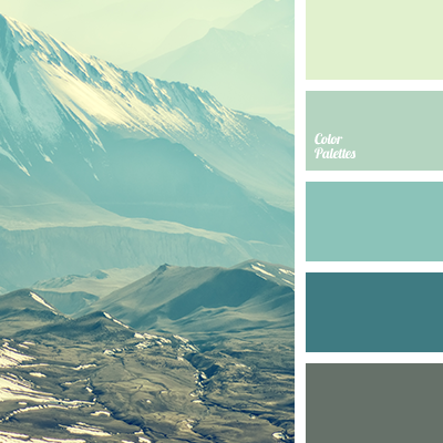 this very fresh, relaxing colour gamma consists of various shades