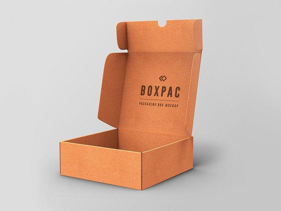 Download Food Packaging Box Mockup Graphicsfuel Rafi On Dribbble Food Box Packaging Mockup Design Box Packaging Design