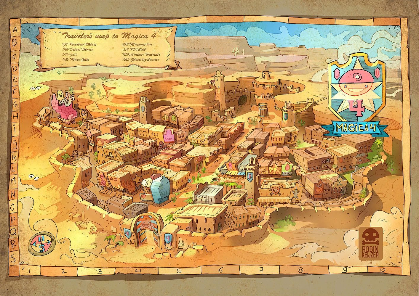 A fantasy map of a desert town made for wizard brew dd a fantasy map of a desert town made for wizard brew gumiabroncs Choice Image