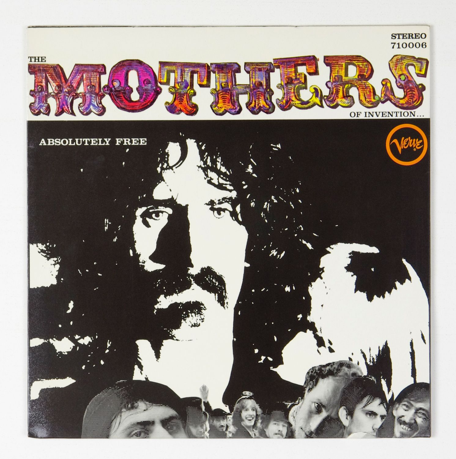 Frank Zappa The Mothers Of Invention Vinyl Lp Absolutely Free1967