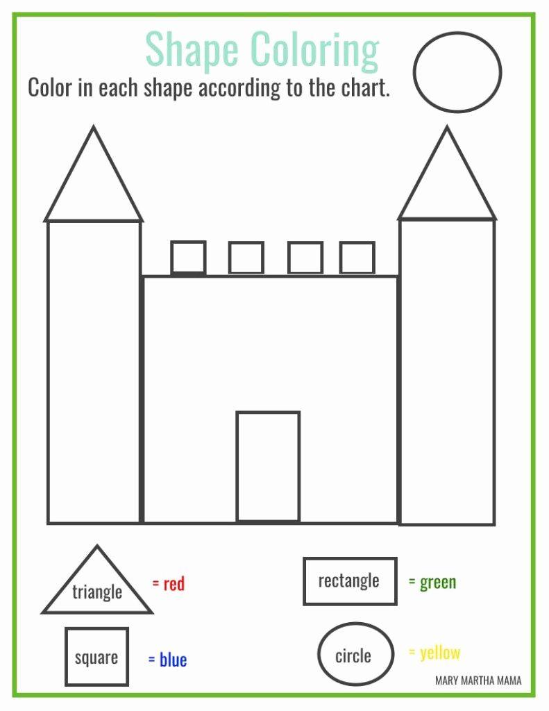 hight resolution of Coloring Design Printable Shapes For Worksheets Preschool   Shape worksheets  for preschool
