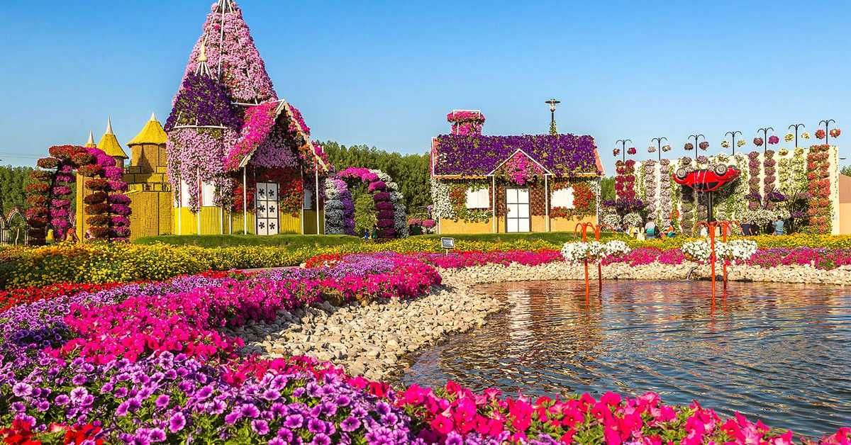 A Complete Travel Guide About Dubai Miracle Garden, Timing, Season, Ticket  And All