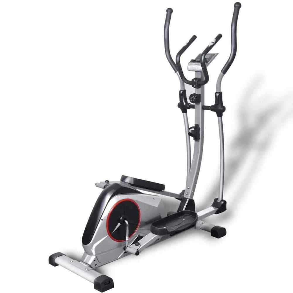 vidaXL Crosstrainer XL 18kg Drehmasse Ellipsentrainer Fitness Heimtrainer# Crosstrainer