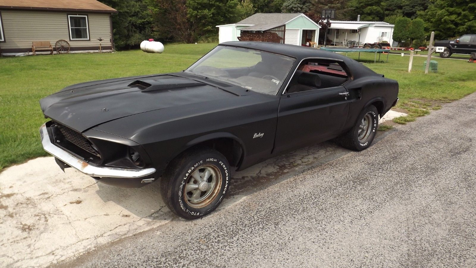 Barn Find 1969 Ford Mustang Fastback Project With Images Ford