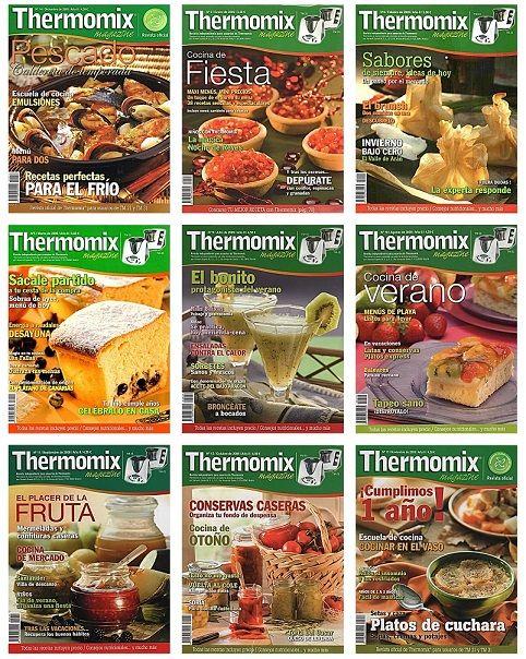 Recetarios De Cocina Pdf | Thermomix Magazine Todas Las Revistas Indices Anuales Pdf